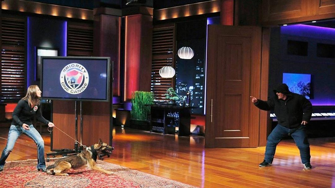 Priority One Canine Guard Dogs take a bite out of Shark Tank but no deal