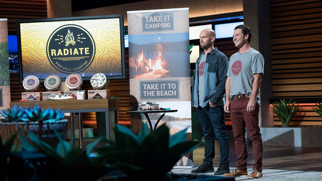 Radiate Campfire lights up Shark Tank, but is there a deal?