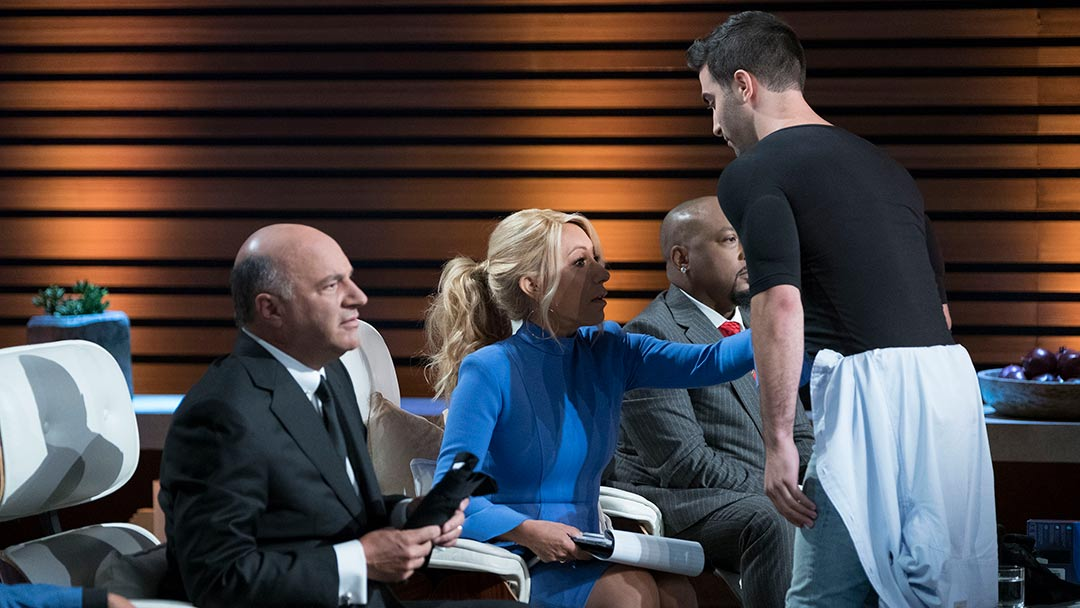 RounderBum Shapewear for men makes pitch to Shark Tank