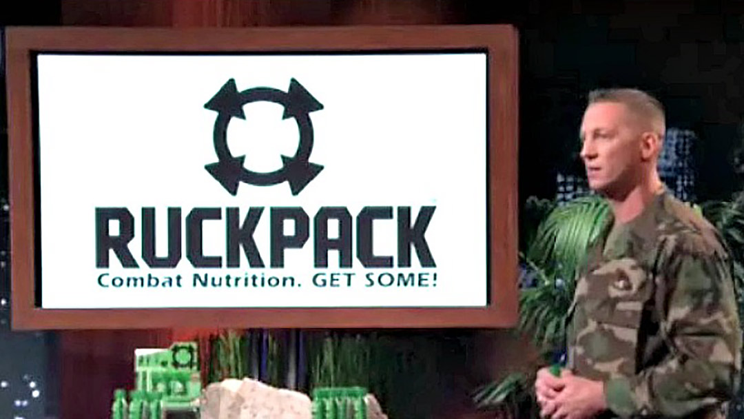 RuckPack Combat Nutrition - Shark Tank