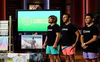Sand Cloud Beach Towel Shark Tank Pitch Robert Herjavec Deal