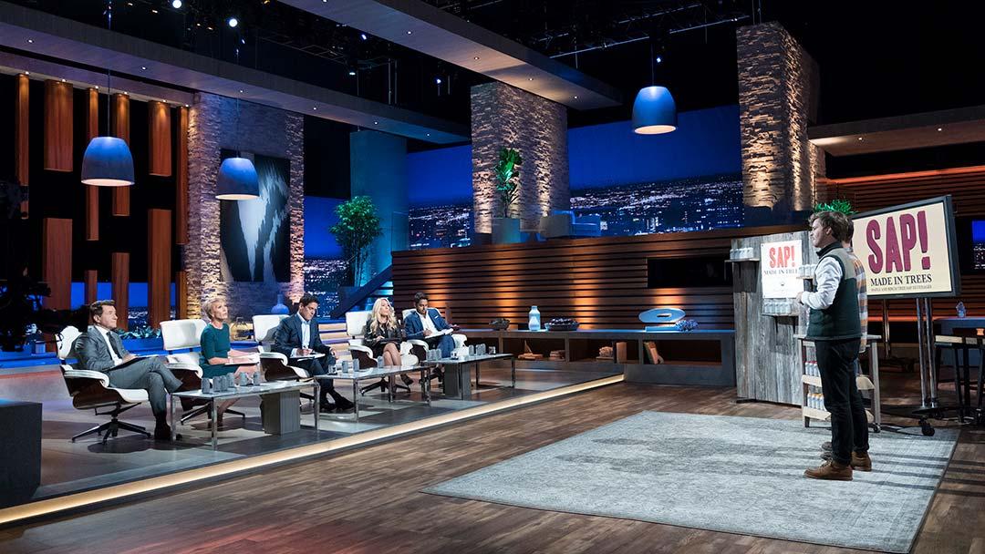 SAP! Maple and Birch water beverage offer on Shark Tank