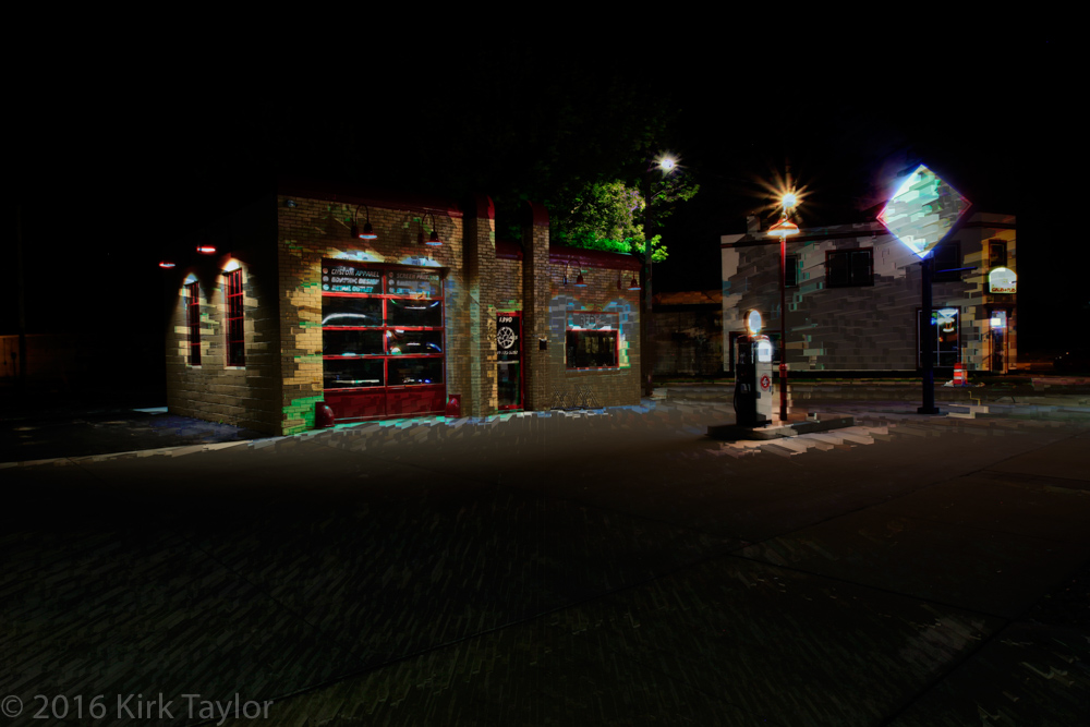 NewBo Skelly Oil gas station – 1940's Style