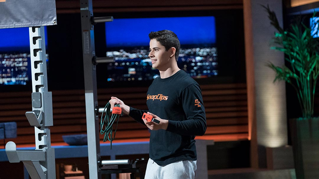 Nineteen-year-old SnapClips creator lifts his way into Shark Tank