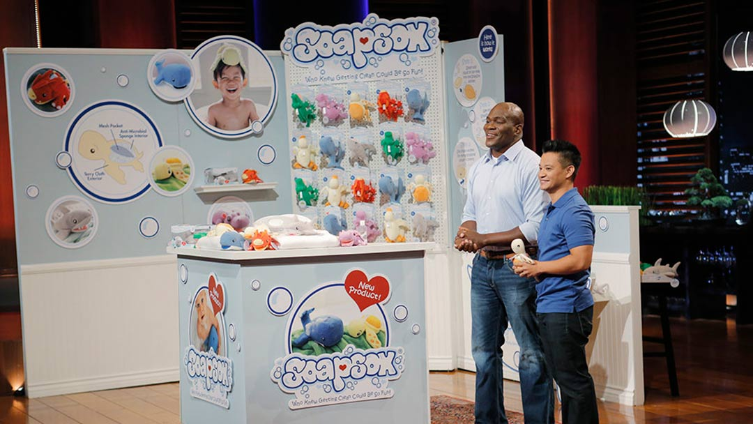 SoapSox Bath Toys lathers up the sharks but declines Shark Tank Deal