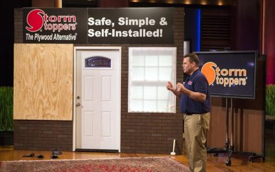 Storm Stoppers Hurricane window protections wiped out in Shark Tank