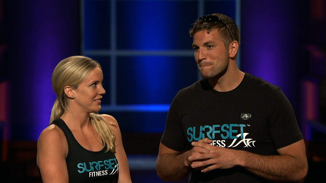 Surfset Fitness surfing indoors rides wave to deal on Shark Tank