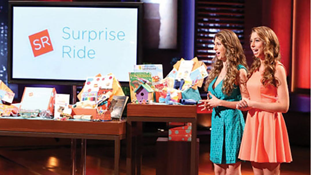 Surprise Ride gets Shark Tank's Kevin O'Leary three years after pitch