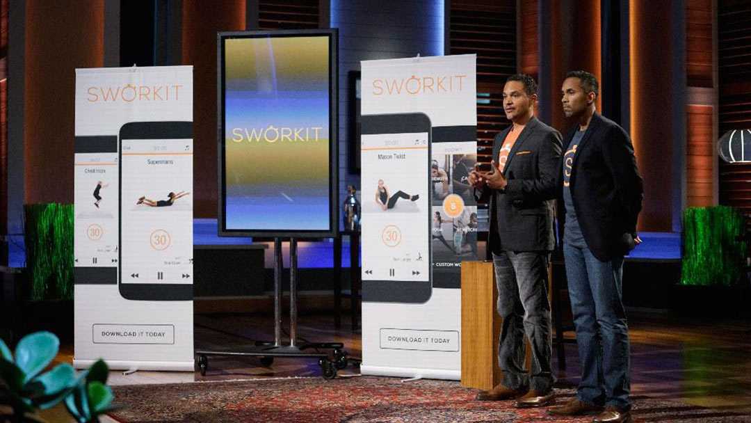 Sworkit Workout Excuse Eliminator app scores Mark Cuban Shark Tank Deal