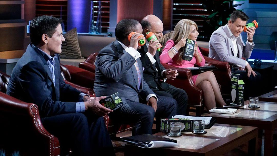 The Tactibite Fish Call – Shark Tank Pitch and after Show Update Robert Herjavec Deal