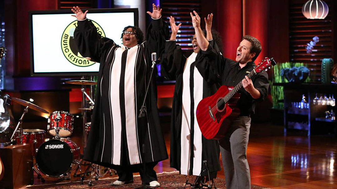 Taylor Robinson Music Learns from Shark Tank Failure, Scales Business