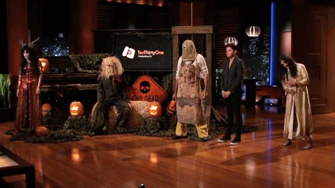 Ten Thirty One Productions Haunted Hay Ride Shark Tank