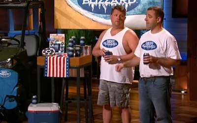 The Beer Blizzard scores a cold Shark Tank Deal with Mark Cuban