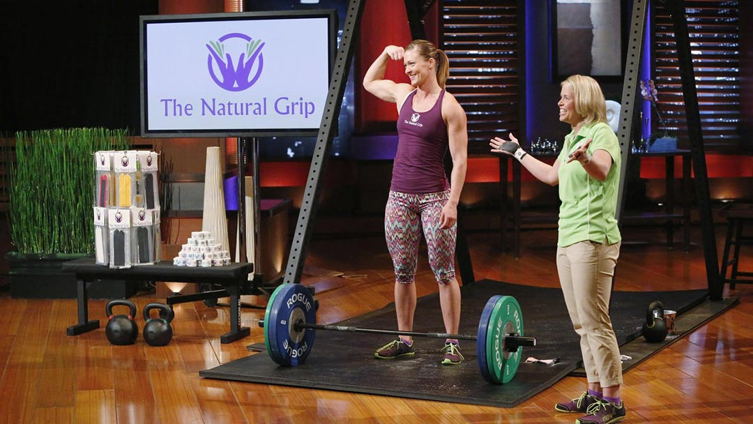 The Natural Grip CrossFit Grip wraps up Robert Herjavec Shark Tank Deal