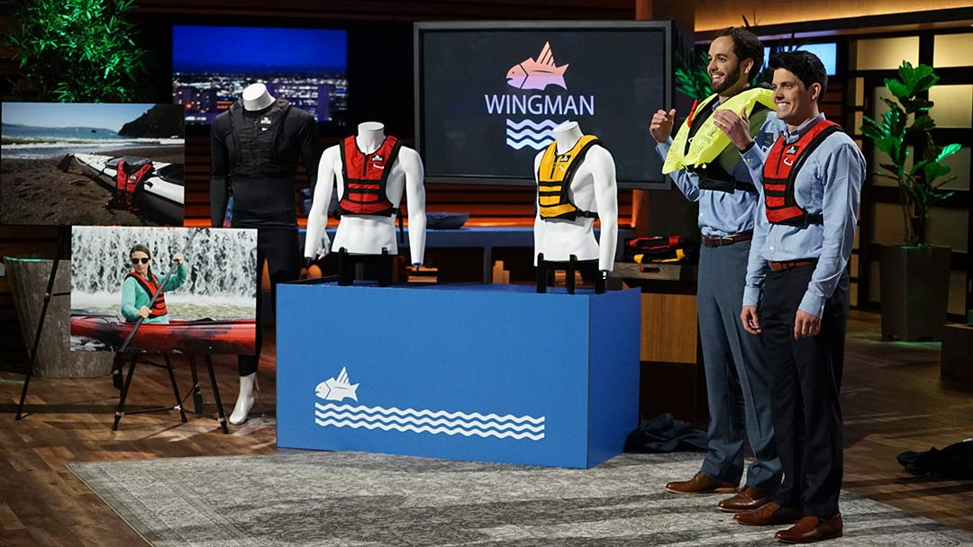 the Wingman life vest pitched on Shark Tank