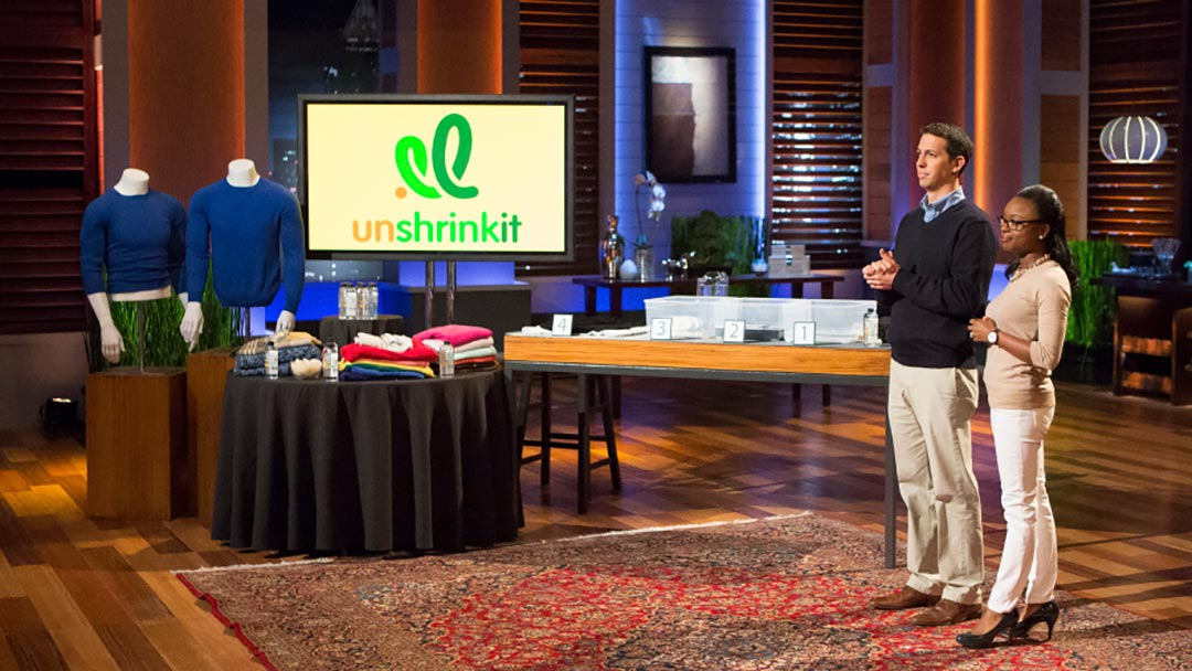 Unshrinkit reshapes shrunken sweaters gets Mark Cuban Shark Tank deal