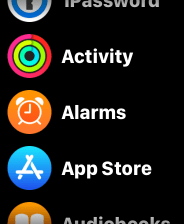 Delete app watch1