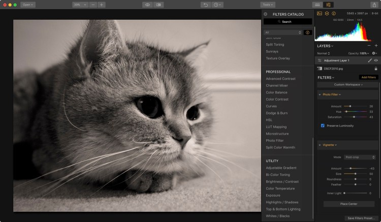 Kirkville - How to Add Sepia Tone to a Photo in Luminar