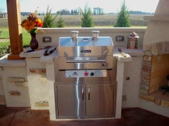 Bryan Ohio, outdoor fireplace, bbq, sit wall, bar, Pergola, Pati 008