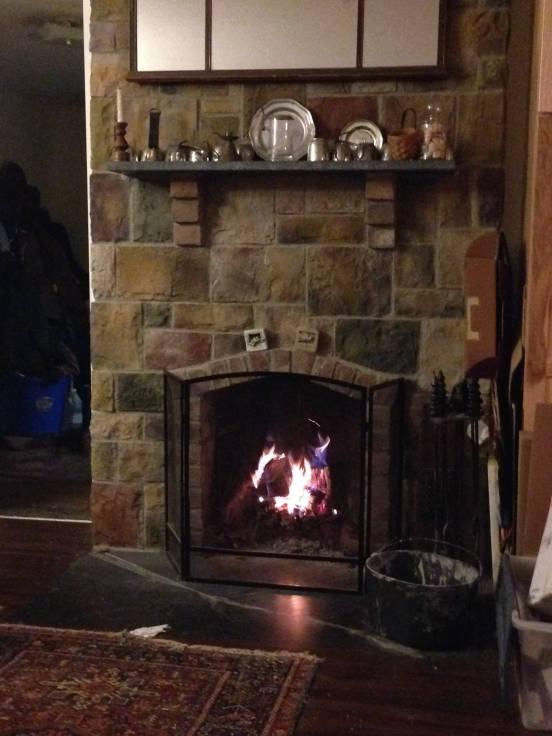 Hobbit Look Fireplace-Hobbit interior fireplace-Myers