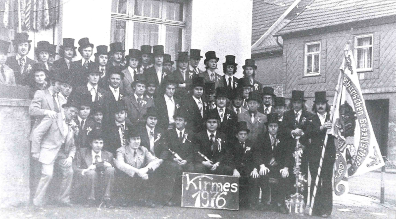 1976 - 100 Jahre Kirmes in Beuren