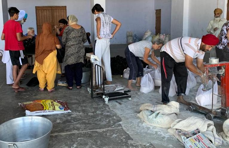 Preparation of the food packages
