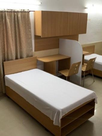 Refurbished hostel room