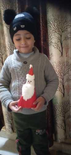selfmade Santa