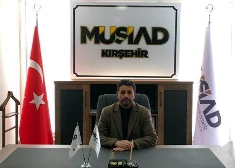 MÜSİAD Kırşehir Şubesine genç iş adamı