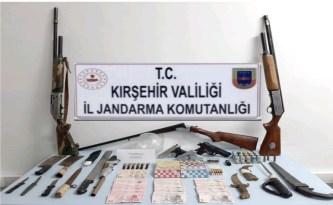 Kırşehir'de kumar operasyonunda 26 kişi yakalandı
