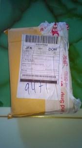 Kirja saapui Dohaan tarkastuksen jälkeen
