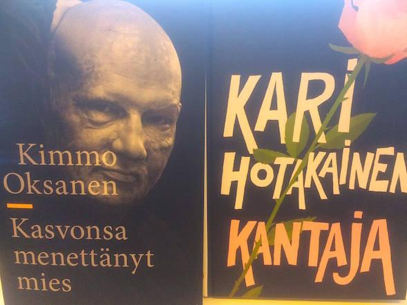 Minna osti Kimmo Oksasen elämäntarinan, jonka blogiarvio löytyy tästä.