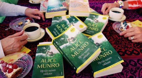 Tavoitteena oli lukea muitakin Alice Munron teoksia kuin Hyvän naisen rakkaus