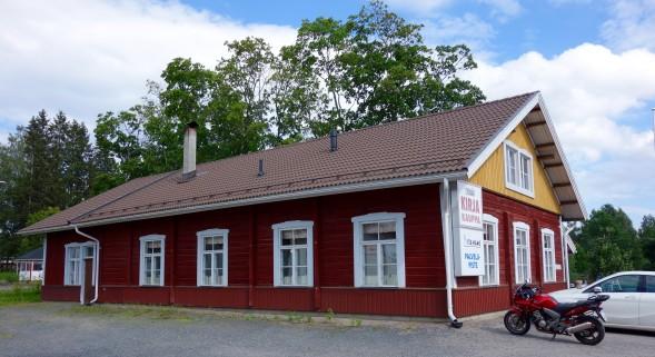 Sysmän kirjakauppa sijaitsee Sysmän keskustassa.