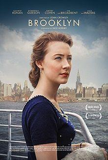Brooklyn on ajankohtainen kirjan pohjalta tehdyn elokuvan takia. Elokuvan on ohjannut John Crowley ja käsikirjoittanut Tólbínin kirjan pohjalta Nick Hornby. Eilisiä esittää Saoirse Ronan.