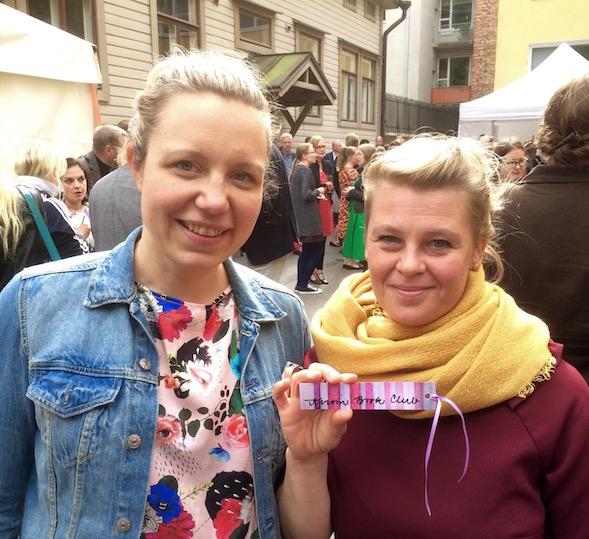 Veera Salmi ja Elina Warsta ovat tehneet kiinnostavan päiväkotikirjan.
