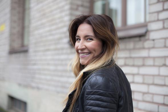 Jenni Pääskysaari. Kuva Dorit Salutskij 2014.