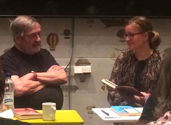 Claes Andersson Bonnier Booksin bloggaribrunssilla Anna-Riikka Carlssonin haastattelemana.