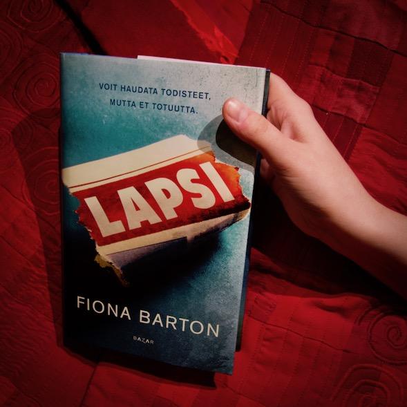 Fiona Bartonin Lapsi-kirja