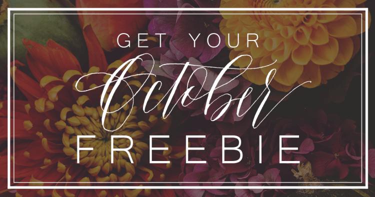 calligraphy freebie