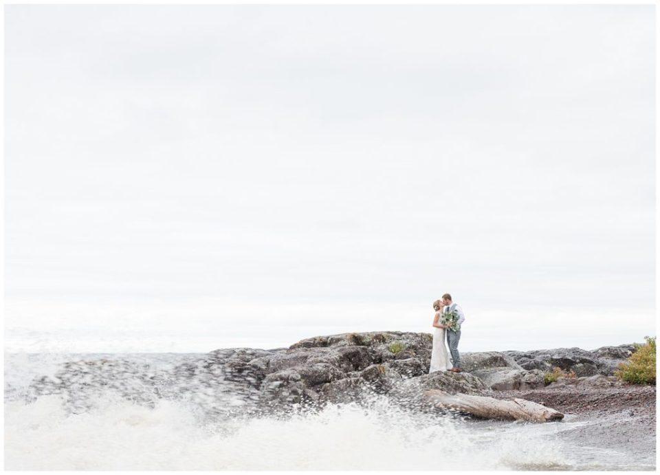 Lake Superior wedding photography