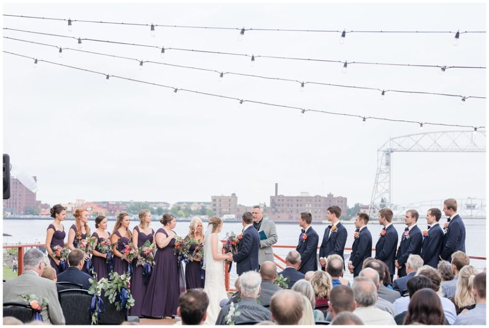 wedding pier b Duluth