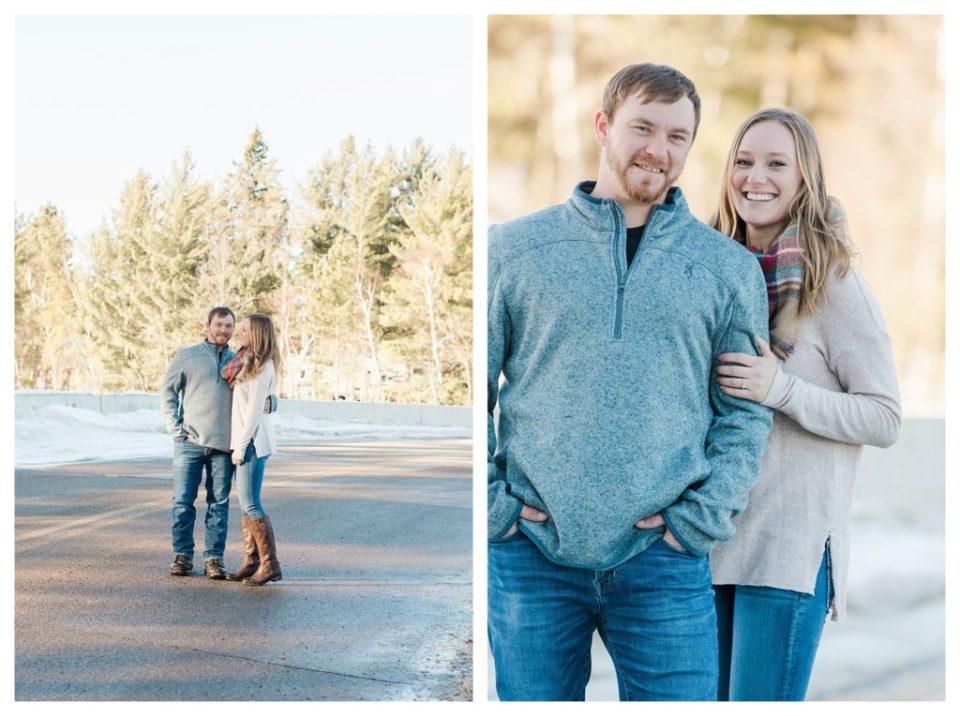 Minnesota Winter Engagement Session Photos By Kirsten Shelton