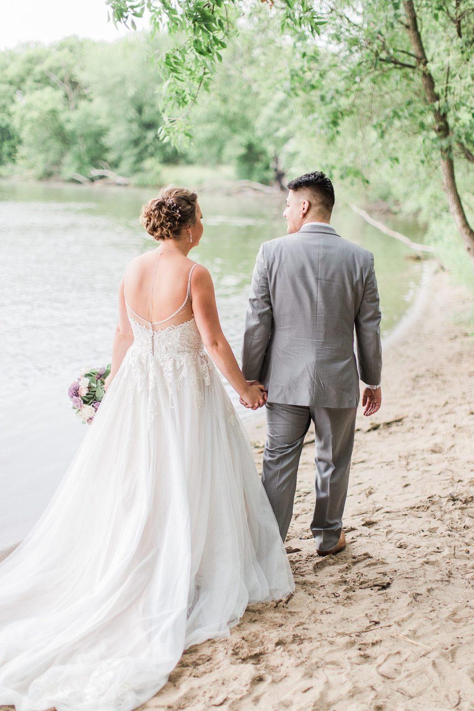 Long Lake Regional Park Wedding Photos by photographer Kirsten Shelton.