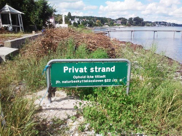 Danmarks strande, natur, offentlig adgang, Kirsten Bukager