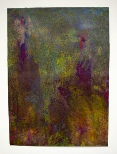 Untitled, 18x24 inches, mixed media on stonehenge, 2011