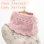 Secret Garden Neck Warmer Infinity Scarf Free Crochet Pattern Kirsten Holloway Designs Kirsten Holloway Designs