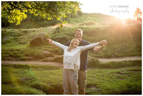 engagement, shoot, peak district, couple, love, photography, wedding, ring, nature, sunset, romance