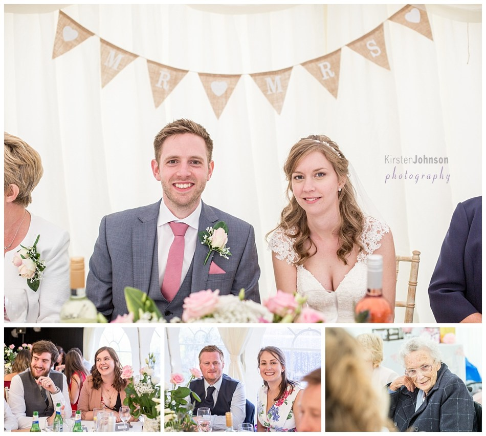Matlock marquee wedding reception