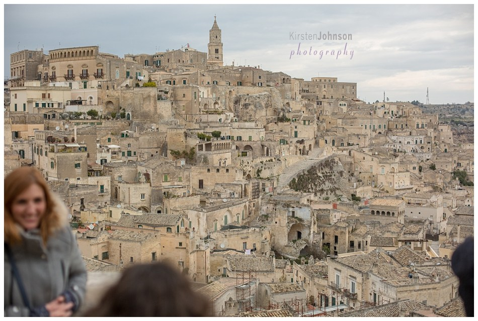 Lanscape of the city of Matera